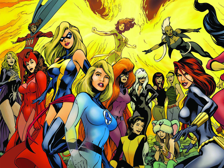 Finally, an All-Female Marvel Superhero Movie Could Be in the Works